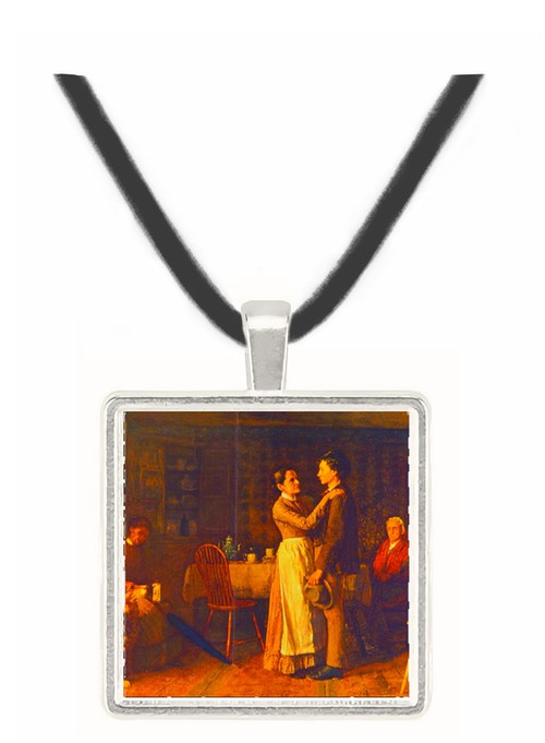 Breaking Home Ties (1890) - Thomas Hosmer Shepherd -  Museum Exhibit Pendant - Museum Company Photo
