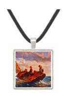 Breezing Up - Winslow Homer -  Museum Exhibit Pendant - Museum Company Photo