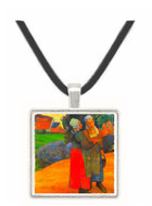 Breton Famers by Gauguin -  Museum Exhibit Pendant - Museum Company Photo