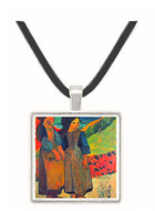 Breton Near sea by Gauguin -  Museum Exhibit Pendant - Museum Company Photo