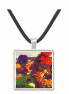 Breton Shepherds by Gauguin -  Museum Exhibit Pendant - Museum Company Photo