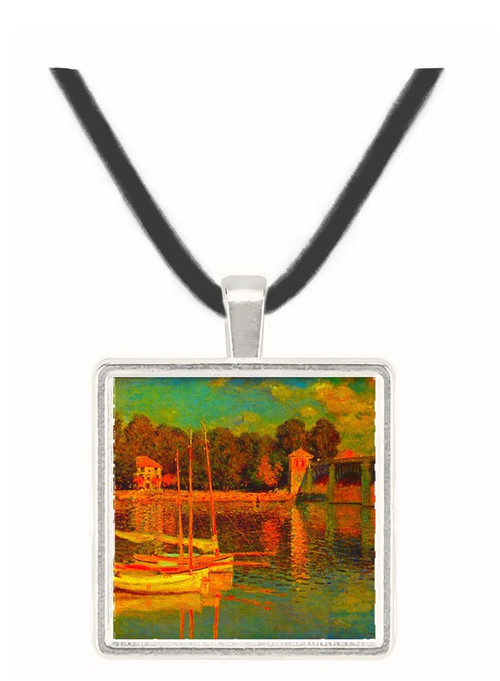 Bridge at Argenteuil by Monet -  Museum Exhibit Pendant - Museum Company Photo