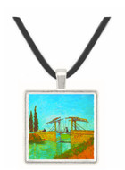 Bridge at Arles by Van Gogh -  Museum Exhibit Pendant - Museum Company Photo