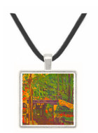 Bridge in the forest by Cezanne -  Museum Exhibit Pendant - Museum Company Photo