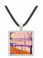 Bridge of Courbevoie by Seurat -  Museum Exhibit Pendant - Museum Company Photo