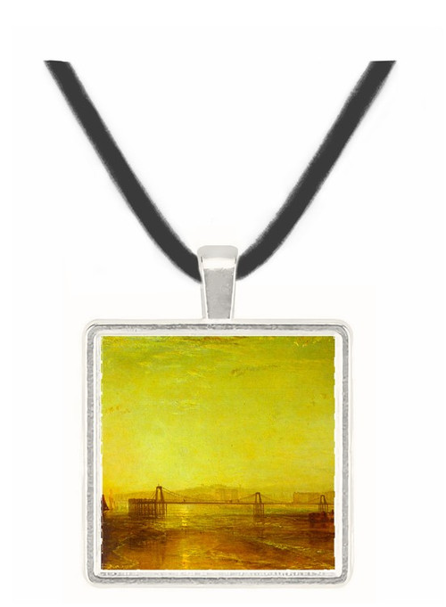 Brighton from the sea by Joseph Mallord Turner -  Museum Exhibit Pendant - Museum Company Photo