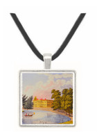 Broadlands in Hampshire - The Seat of... - William Watts -  -  Museum Exhibit Pendant - Museum Company Photo