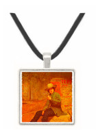 Buffalo Newsboy - Thomas Hovenden -  Museum Exhibit Pendant - Museum Company Photo
