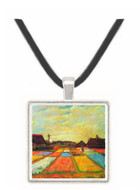 Bulb Fields -  Museum Exhibit Pendant - Museum Company Photo