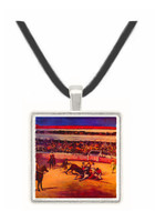 Bullfight by Manet -  Museum Exhibit Pendant - Museum Company Photo