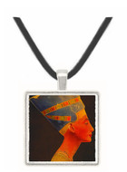 Bust of Queen Nefretete - Egypt -  Museum Exhibit Pendant - Museum Company Photo