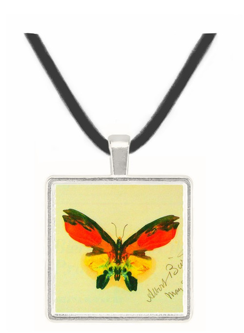 Butterfly 2 by Bierstadt -  Museum Exhibit Pendant - Museum Company Photo