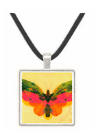 Butterfly by Bierstadt -  Museum Exhibit Pendant - Museum Company Photo