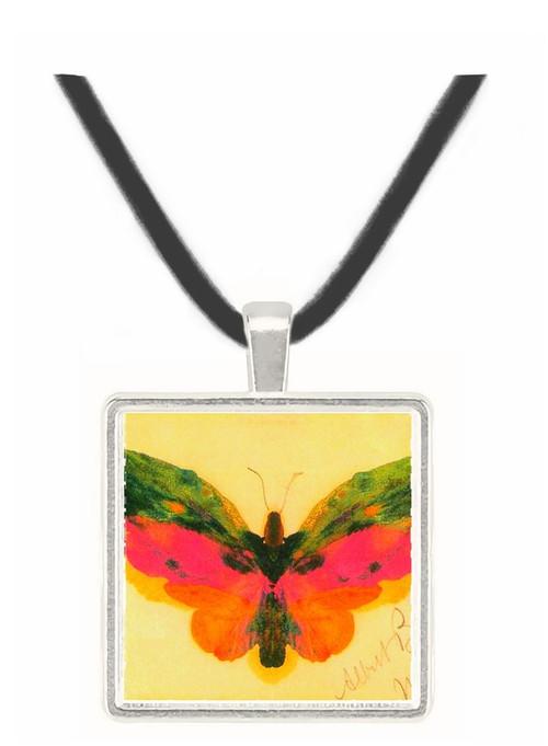 Butterfly by Bierstadt -  Museum Exhibit Pendant - Museum Company Photo