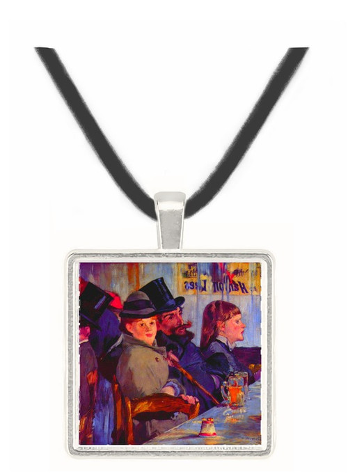 Cabaret in Reichshoffen by Manet -  Museum Exhibit Pendant - Museum Company Photo