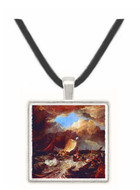 Calais Pier by Turner -  Museum Exhibit Pendant - Museum Company Photo