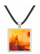 Caligulas Palace and Bridge by Joseph Mallord Turner -  Museum Exhibit Pendant - Museum Company Photo