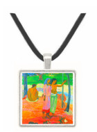 Call For Freedem by Gauguin -  Museum Exhibit Pendant - Museum Company Photo