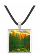 Canadian Rockies by Bierstadt -  Museum Exhibit Pendant - Museum Company Photo