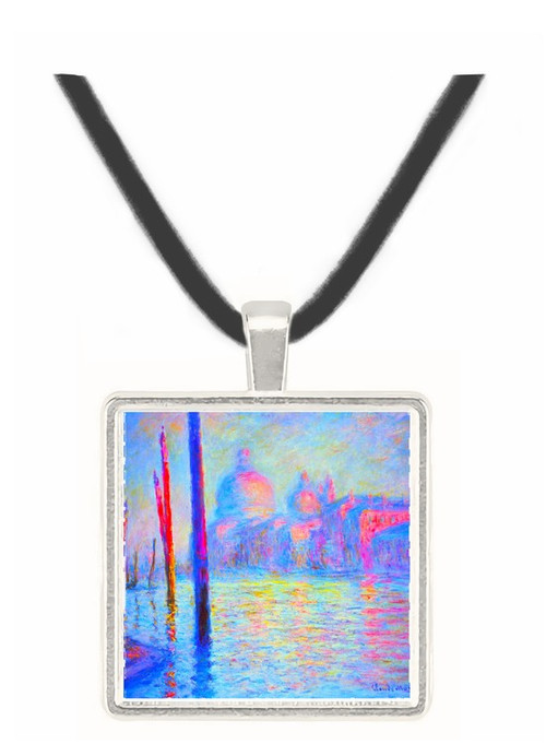 Canal Grand by Monet -  Museum Exhibit Pendant - Museum Company Photo