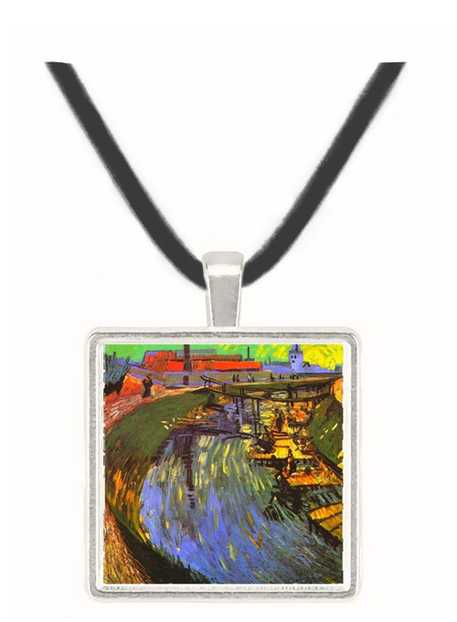 Canal with Women Washing -  Museum Exhibit Pendant - Museum Company Photo