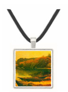 Canoes by Bierstadt -  Museum Exhibit Pendant - Museum Company Photo