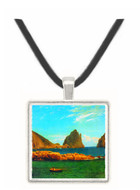 Capri by Bierstadt -  Museum Exhibit Pendant - Museum Company Photo