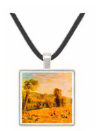 Cassiobury Park - Harvest by Joseph Mallord Turner -  Museum Exhibit Pendant - Museum Company Photo