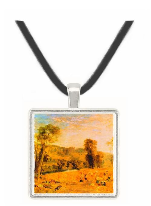 Cassiobury Park - Harvest by Joseph Mallord Turner -  Museum Exhibit Pendant - Museum Company Photo