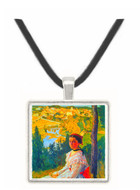 Castelnau Le Lez by Bazille -  Museum Exhibit Pendant - Museum Company Photo