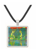 Castle at the Attersee by Klimt -  Museum Exhibit Pendant - Museum Company Photo