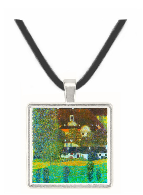Castle Chamber at Attersee II by Klimt -  Museum Exhibit Pendant - Museum Company Photo