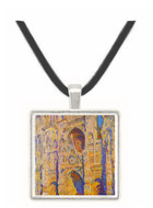 Cathedral at Rouen by Monet -  Museum Exhibit Pendant - Museum Company Photo