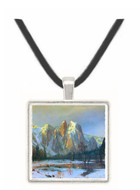 Cathedral Rocks, Yosemite by  Bierstadt -  Museum Exhibit Pendant - Museum Company Photo