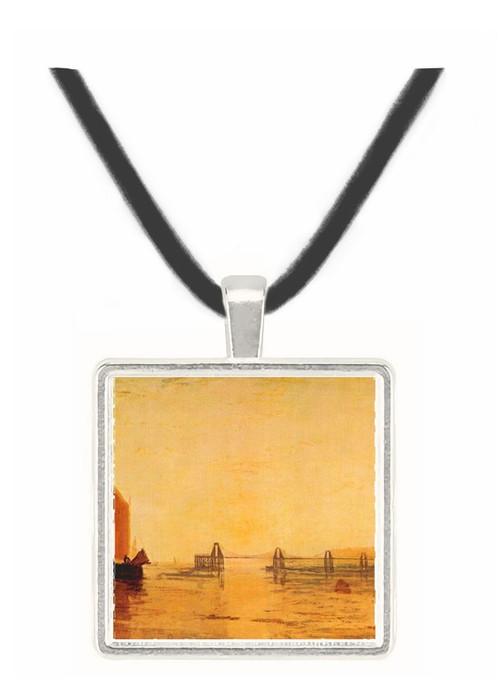Chain pier, Brighton by Joseph Mallord Turner -  Museum Exhibit Pendant - Museum Company Photo
