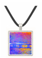 Charing cross bridge by Monet -  Museum Exhibit Pendant - Museum Company Photo