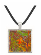 Chateau Noir by Cezanne -  Museum Exhibit Pendant - Museum Company Photo