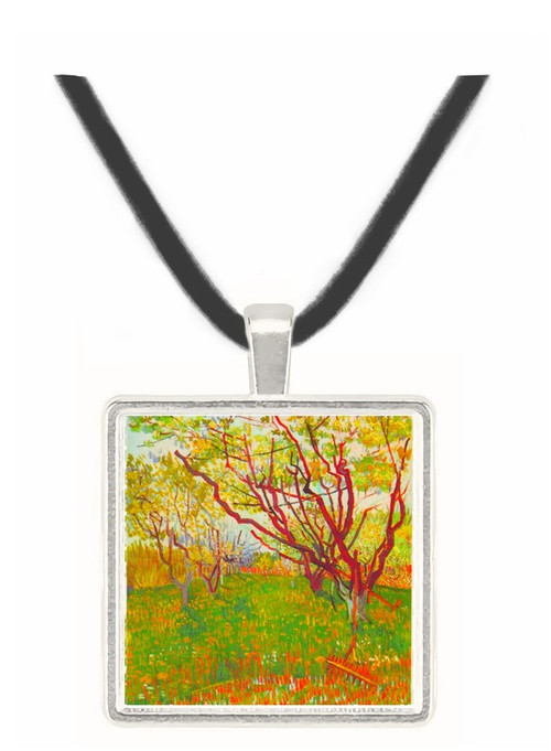 Cherry Tree by Van Gogh -  Museum Exhibit Pendant - Museum Company Photo