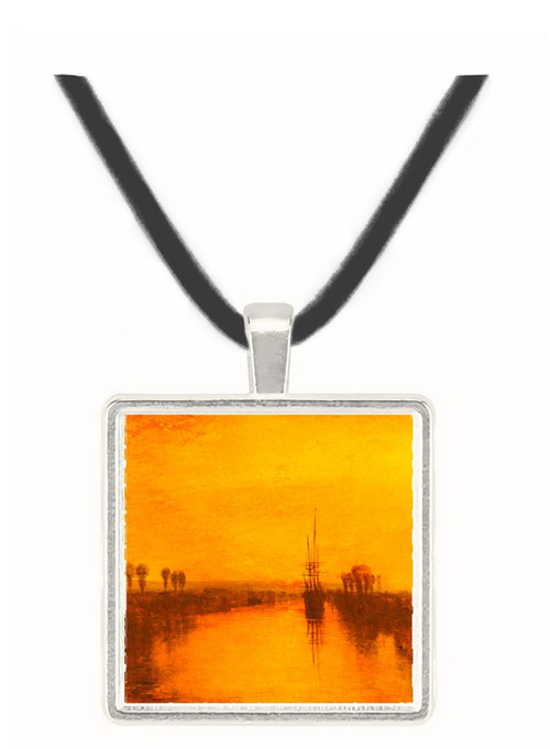 Chichester Canal by Joseph Mallord Turner -  Museum Exhibit Pendant - Museum Company Photo