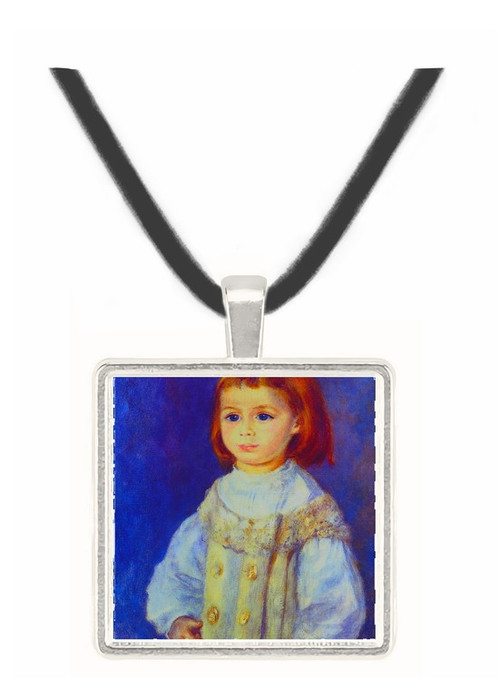 Child in White - Auguste Renoir -  Museum Exhibit Pendant - Museum Company Photo