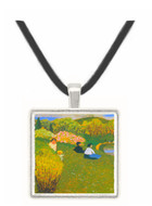 Children at a pond by Felix Vallotton -  Museum Exhibit Pendant - Museum Company Photo