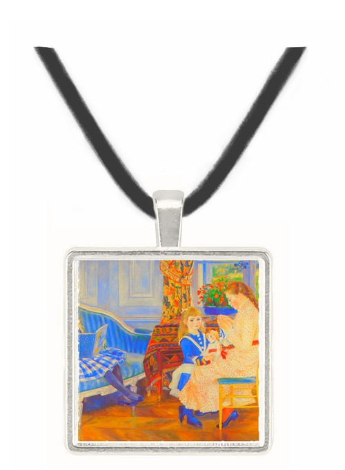 Children in the afternoon in Wargemont by Renoir -  Museum Exhibit Pendant - Museum Company Photo