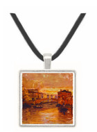 Chioggia Canal - Moscow School - Kremlin - Moscow -  -  Museum Exhibit Pendant - Museum Company Photo