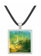 Cho-Looke,  Yosemite Watterfall by Bierstadt -  Museum Exhibit Pendant - Museum Company Photo