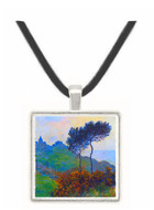 Church at Varengeville by Monet -  Museum Exhibit Pendant - Museum Company Photo