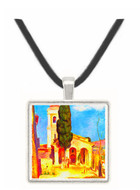 Church in Cagnes by Renoir -  Museum Exhibit Pendant - Museum Company Photo