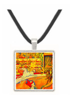 Circus by Seurat -  Museum Exhibit Pendant - Museum Company Photo