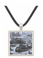 Civil war by Manet -  Museum Exhibit Pendant - Museum Company Photo