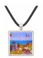 Claude Monet - Garden at Sainte Adresse -  Museum Exhibit Pendant - Museum Company Photo