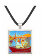 Claude Monet by Manet -  Museum Exhibit Pendant - Museum Company Photo